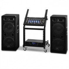Electronic-Star DJ PA Set Rack Star Seria Mars Flash 400 persoane