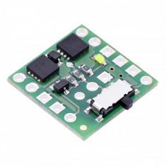 Comutator Mini MOSFET SV cu Protecţie la Alimentare Inversă și Buton Lateral
