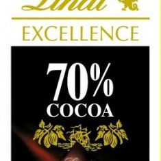 Lindt Excellence 70% cacao, Larousse