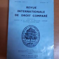 Revista internațională de drept comparat nr. 1/1976, Paris