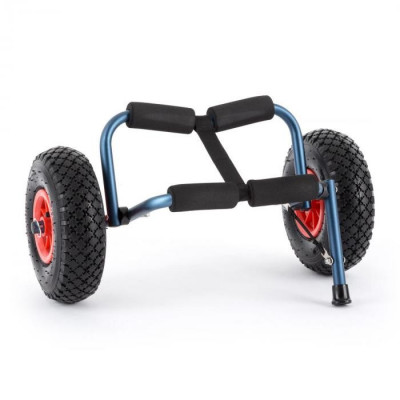 DURAMAXX SEA MULE BL, cărucior de caiac, suport, aluminiu, eloxat, pliabil foto