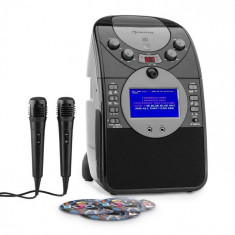 Auna Ecrankaraoke Camera CD USB SD MP3 inclusiv. 2 x Microfon 3 x CD + G