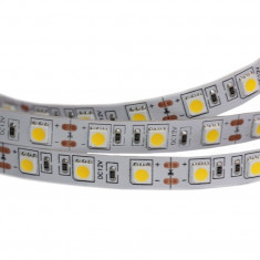 Bara de LED-uri RGB 5050 12 V Albastra (Rola 5 m)