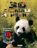3D Animale în pericol (poster + ochelari)