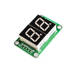 Display LED cu 2 Cifre și 7 Segmente 74HC595
