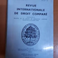 Revista internațională de drept comparat nr. 2/1976, Paris