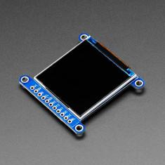 """Ecran TFT LCD Adafruit 1.54"""" 240x240 cu Unghi Larg de Vizualizare și Slot Card MicroSD (ST7789)"""