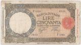 ITALIA 50 LIRE 1943 U