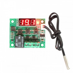 Termometru Digital cu Termostat și Releu si sonda de temperatura waterproof -50 ~ 110°C