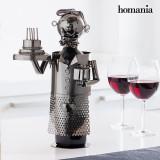 Suport Metalic pentru Sticle La Multi Ani Homania