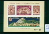 Ungaria 1975, nedantelat, Mi. Block 115 B, MNH, cat. 90 €, Nestampilat