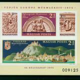 Ungaria 1975, nedantelat, Mi. 115 B, MNH, cat. 130 €, Nestampilat