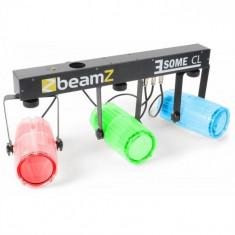 Beamz 3 efecte de lumină LED-CL Set 5 buc. T-Bar LED-uri 171-RGBW transparent