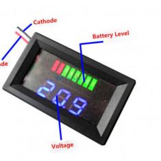 Voltmetru Auto indicator nivel baterie 24 V