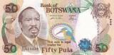 Botswana 50 Pula 2005 UNC