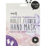 Violet Flower Masca de maini cu efect de hidratare intensa Unisex