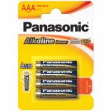 Set de 4 Baterii Alcaline Panasonic LR03 / AAA