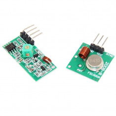 Pereche Emitator si Receptor RF 433 MHz