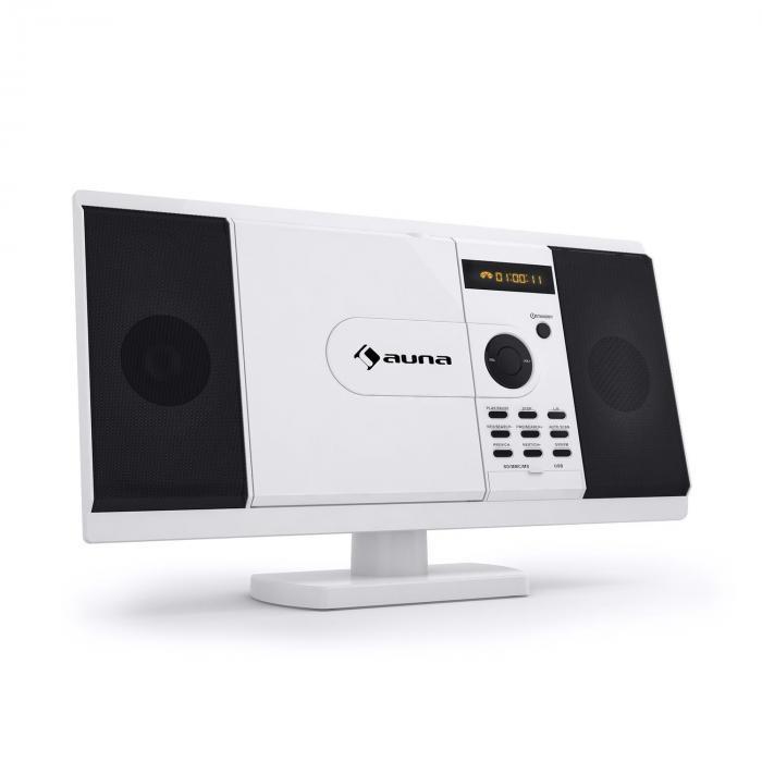 Auna MCD-82 DVD player stereo USB SD alb