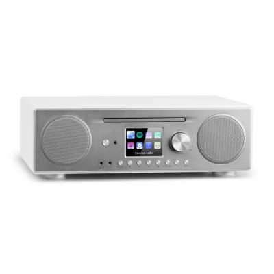 Auna CONNECT CD, radio prin internet, media player, bt, mp3, dab +, spotify, connect radio, alb foto