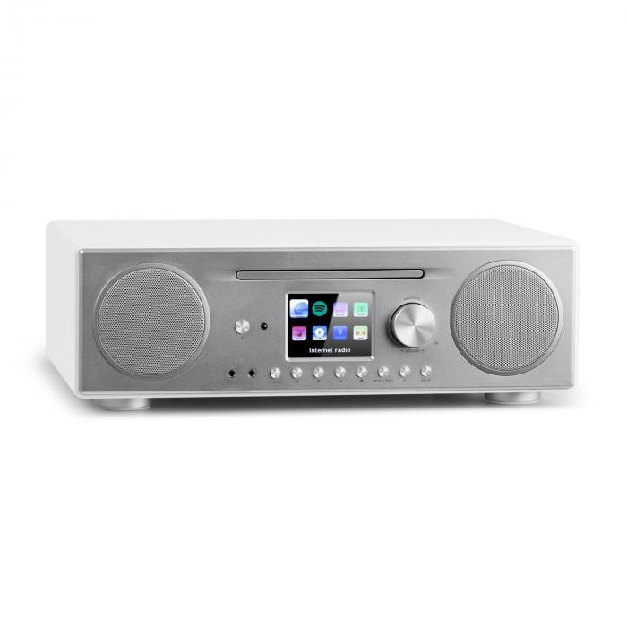 Auna CONNECT CD, radio prin internet, media player, bt, mp3, dab +, spotify, connect radio, alb