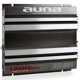 Auna Amplificator de mașină AB-250 1200 Watt 2-Canale