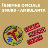 Grade Brodate Smurd Ambulanta, Embleme Brodate Smurd Ambulanta, Petlite Brodate