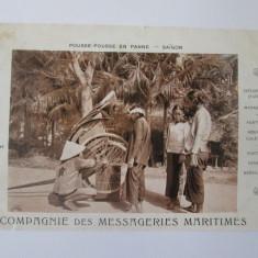 Carte postala necirculata Indochina Franceza-Vietnam/Saigon aproximativ 1910, Printata