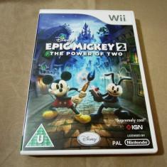 Disney Epic Mickey The power of Two, Wii, alte sute de jocuri!