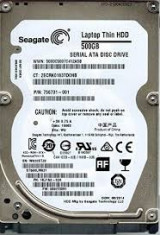 Hdd 2.5` laptop 500 gb slim 7mm, 7200 rot, 32 Mb bufer, garantie 6 luni foto