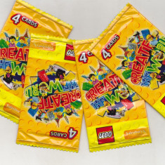Bnk crc Cartonase de colectie - Lego - Salisbury`s - lot 10 pachete sigilate
