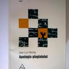 Jean-Luc Hennig - Apologia plagiatului