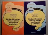 Limba si lit. romana pt bacalaureat si admitere, vol.1 si 2/ 2006 - N.Manolescu