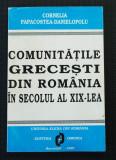 Cornelia Papacostea-Danielopolu - Comunitățile grecești din România în sec. XIX