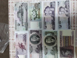 Colectie bancnote internationale -100 bucati, Asia