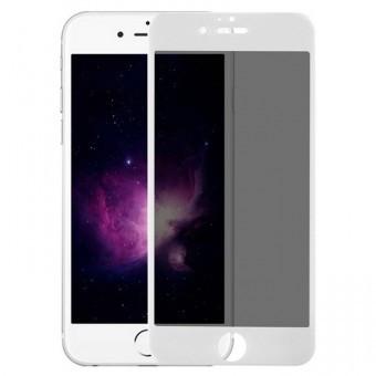 Folie protectie sticla securizata 5D ecran Apple iPhone 8 Plus WHITE