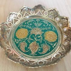 Fructiera / centru masa - decorativ -  Alama - India, Ornamentale