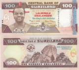 Swaziland 100 Emalangeni 2008 Comemorativa UNC