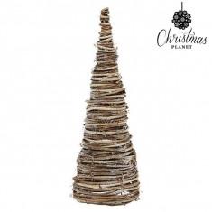 Pom de Craciun Christmas Planet 4021 38 cm Lemn Maro