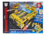 ROBOT MASINA TRANSFORMERS BUMBLEBEE DIN PIESE TIP LEGO 378PCS.CADOUL MINUNAT!, Plastic, Unisex