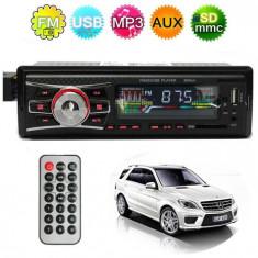 Radio MP3 Player Auto / USB / SD Card / AUX / 4 x 50 W / Telecomanda