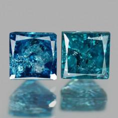 PERECHE_Diamant albastru 0.26 ct