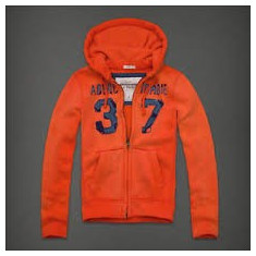ABERCROMBIE & FITCH HANORAC, S, Bumbac
