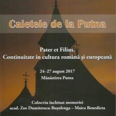 AS - CAIETELE DE LA PUTNA 11, XI-2018 PATER ET FILIUS.CONT. IN CULT. ROM. SI EU.