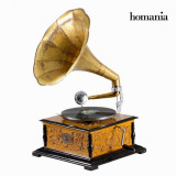 Gramofon Patrat Old Style Colectare by Homania