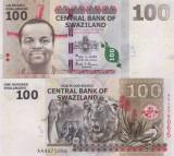 Swaziland 100 Emalangeni 2010 Seria AA UNC