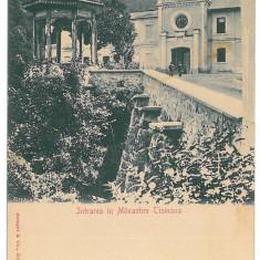 4075 - TISMANA, Gorj, Monastery, Romania - old postcard - unused, Necirculata, Printata