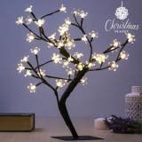 Pom Decorativ cu Flori (48 LED uri)