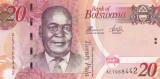 Botswana 20 Pula 2014 UNC