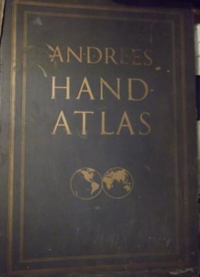 Andrees Hand Atlas foto